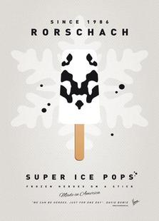 My Superhero Ice Pop - Rorschach