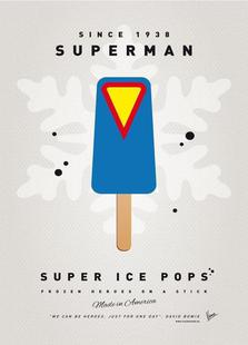 My Superhero Ice Pop - Superman