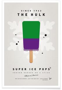 My Superhero Ice Pop - The Hulk