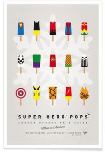My Superhero Ice Pop - Universe