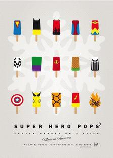 My Superhero Ice Pop - Universe