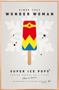 My Superhero Ice Pop - Wonder Woman