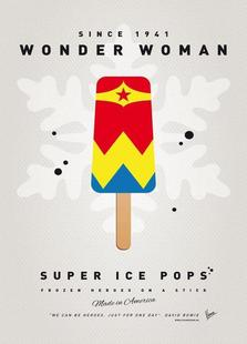 My Superhero Ice Pop - Wonder Woman