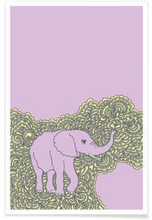 Elephant Purple