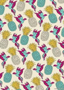 Wrapping Paper Pineapple