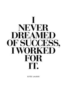 Dreamed Of Success