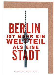 Berlin ist ein Weltteil