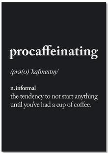 Procaffeinating
