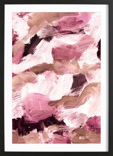 Abstract Painting VI Coffee and Rose