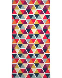 Colorful Umbrellas Geometric Pattern