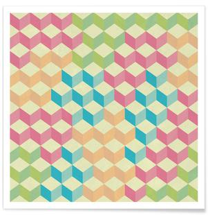 SugarCubes Geometric Pattern