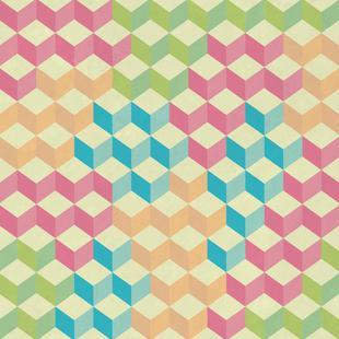 SugarCubes Geometric Pattern