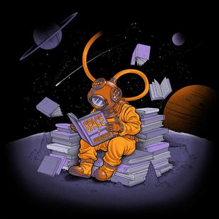 A reader lives a thousand lives - Diving Dress Space Adventures