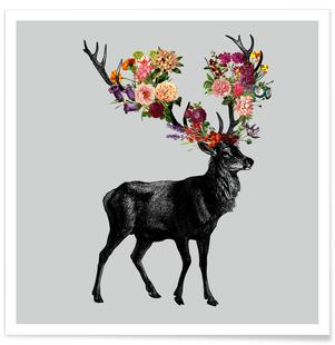 Sprint Itself Deer Floral