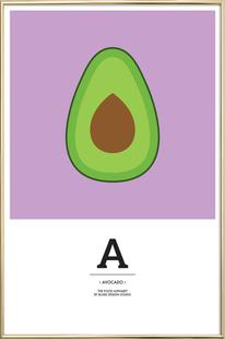 """The Food Alphabet"" - A like Avocado"