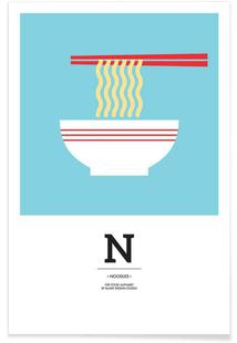 """The Food Alphabet"" - N like Noodles"