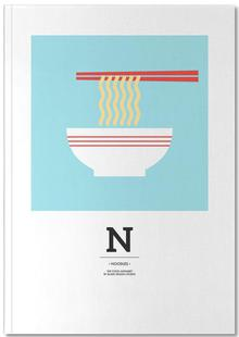 """The Food Alphabet"" - N like Noodles"