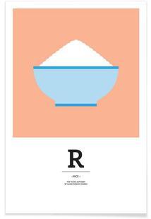 """The Food Alphabet"" - R like Rice"