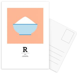 """The Food Alphabet"" - R like Rice"