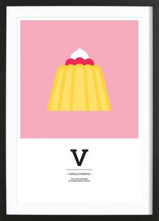"""The Food Alphabet"" - V like Vanilla Pudding"