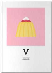 """The Food Alphabet"" - V like Vanilla Pudding"