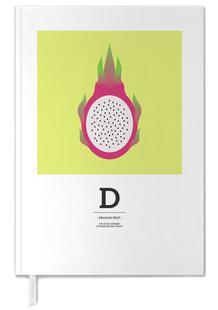 """The Food Alphabet"" - D like Dragon Fruit"