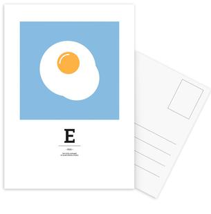 """The Food Alphabet"" - E like Egg"