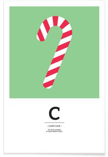Food Alphabet Xmas Edition C
