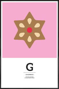 Food Alphabet Xmas Edition G