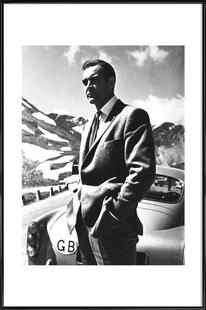 "Sean Connery ""Goldfinger"" 1964"