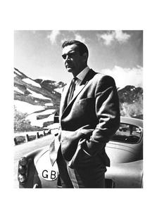 """Sean Connery """"Goldfinger"""" 1964"""