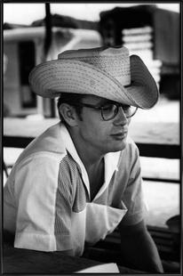 James Dean with Cowboy Hat