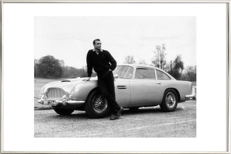 Sean Connery in Goldfinger, 1964