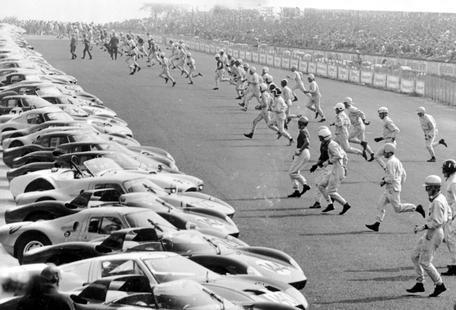 Start, Le Mans