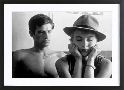 Jean-Paul Belmondo and Jean Seberg in Breathless, 1960