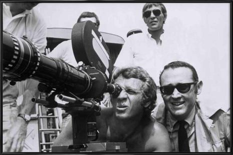 Steve McQueen behind the Camera