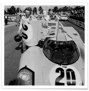 Steve McQueen with Porsche 917