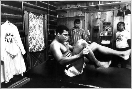 Muhammad Ali Exercising