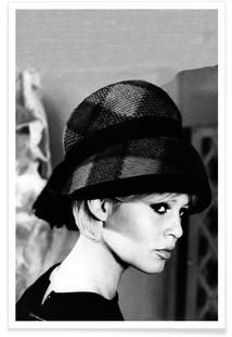 Brigitte Bardot with Hat