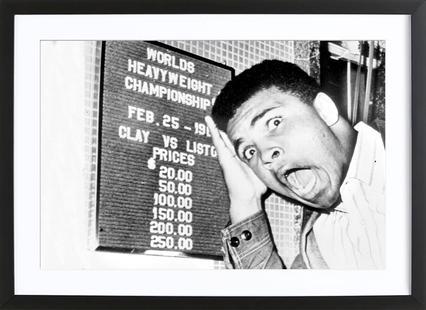The New World Heavyweight Champion Cassius Clay, 26 February 1964