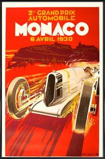 Vintage Monaco 6 April 1930
