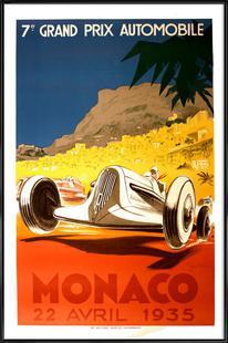 Vintage Monaco 22 April 1935