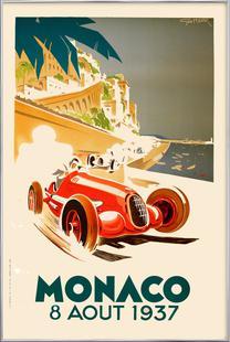 Vintage Monaco 8 August 1937