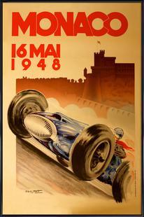 Vintage Monaco 16 May 1948