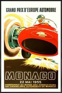 Vintage Monaco 22 May 1955