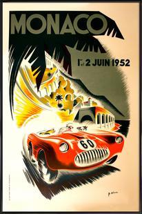 Vintage Monaco 1 June 1952