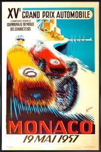 Vintage Monaco 19 May 1957