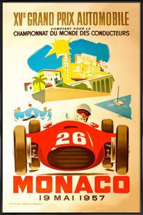 Vintage Monaco 19 May 1957 2
