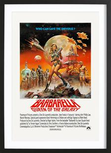 'Barbarella' Retro Movie Poster