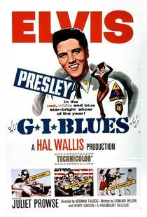 'G.I. Blues' Retro Movie Poster